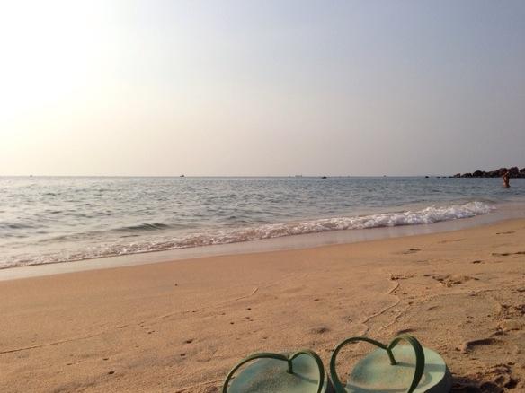 Alleine verreisen - am Strand