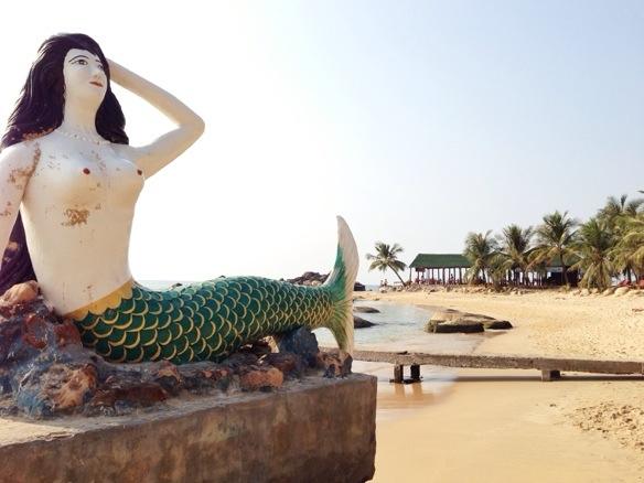 Am Strand von Phu Quoc