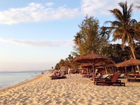 Palmenstrand auf Phu Quoc