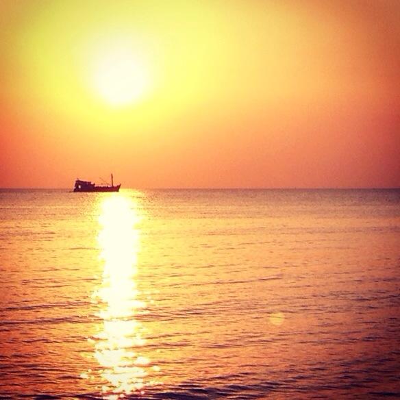 Sonnenuntergang bei Phu Quoc