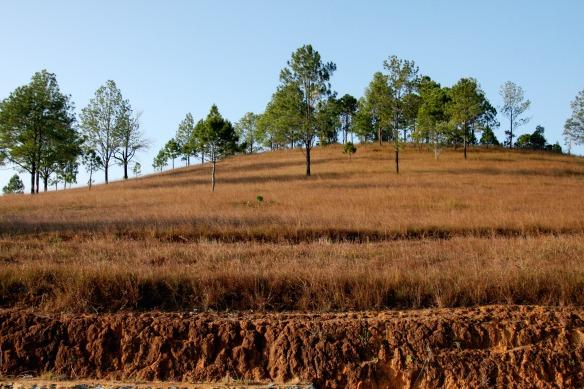 Plateau in der Nähe von Xieng Khouang Laos