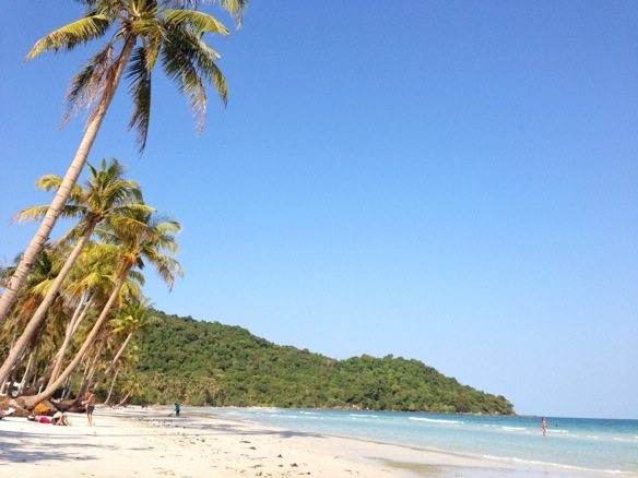 Strand in Vietnam