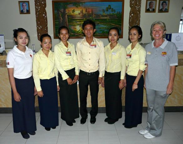 Belegschaft der Don Bosco Hotel School