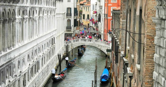 Lagune in Venedig