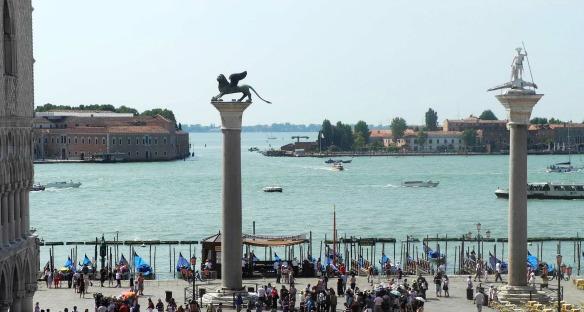 Schöner Ausblick in Venedig