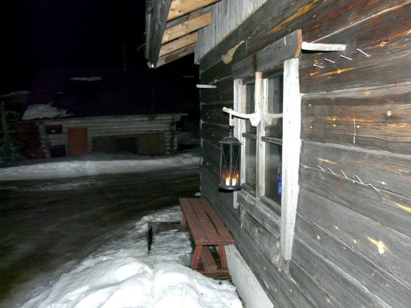 Finnische Sauna in Lappland