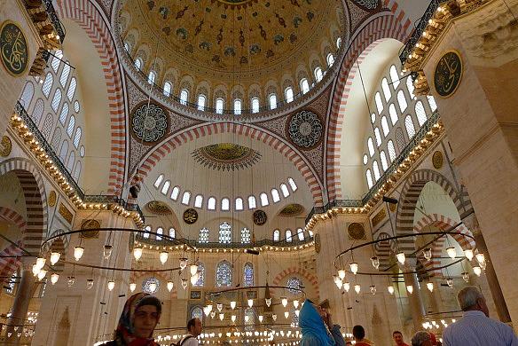 Istanbul - Süleymaniye Moschee
