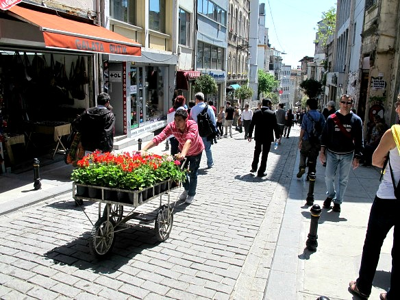 Hügeliges Istanbul