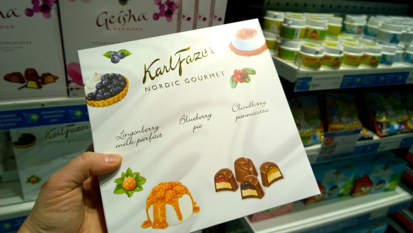 Karl Fazer Schokolade aus Lappland