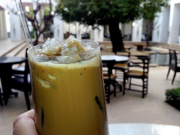Khmer Iced Coffee im Park Hyatt