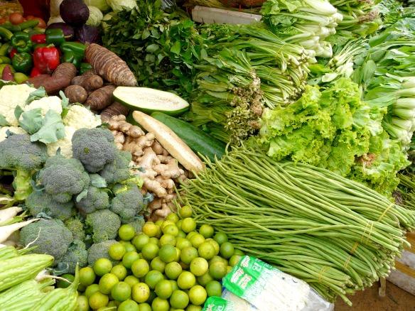 Psar Leu Markt in Siem Reap