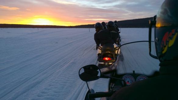 Nokia - Schneemobil Tour in Lappland
