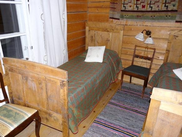 Umkleidekabine für die Sauna