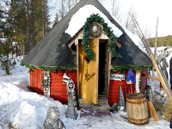 Sauna gehört zu Finnland