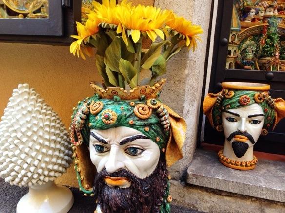 Keramiken auf Sizilien