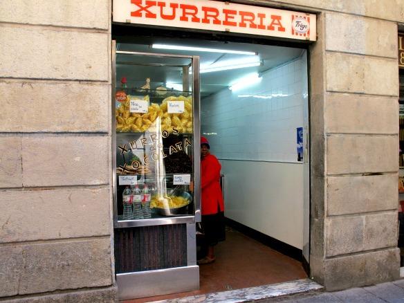 Xurreria in Barcelona
