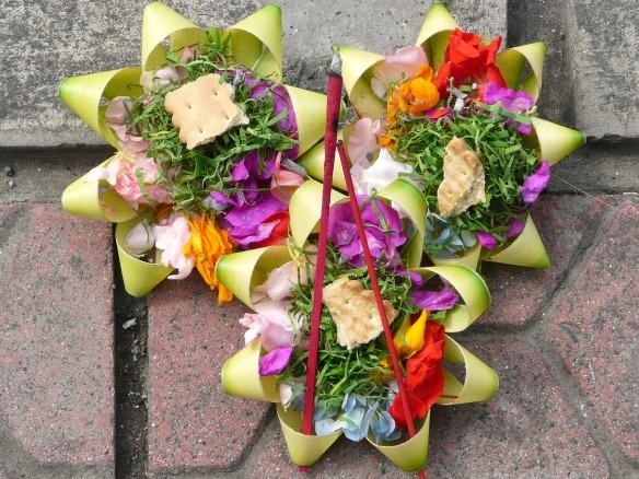 Bali - Sesajen Opfergaben