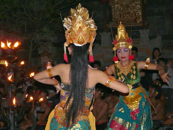 Bali - traditioneller Tanz