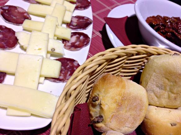 Käse, danach Cannoli