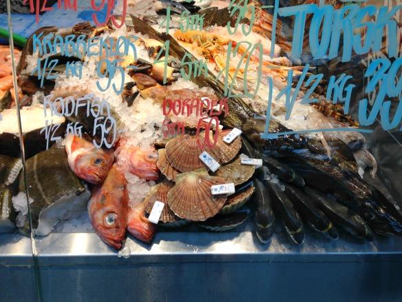 Fisch Torvehaller Markthallen - Kopenhagen