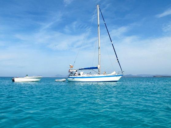 Formentera - Segelschiff