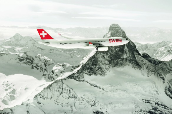 SWISS Flugzeug
