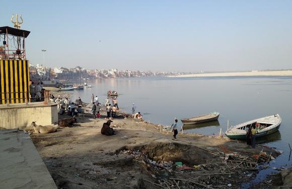Varanasi-dreck