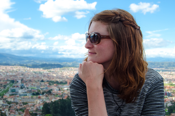 Ich in Ecuador