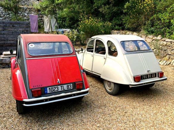 2CV in der Provence