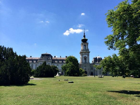 Hévíz in Ungarn - Schloss Keszthely