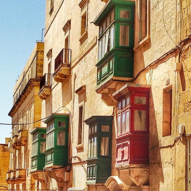 Malta - Balkon
