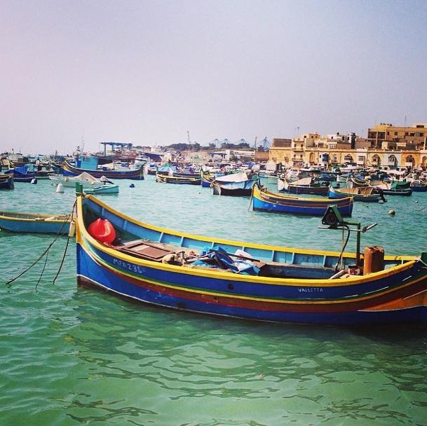 Malta - Fischerboot - Luzzu