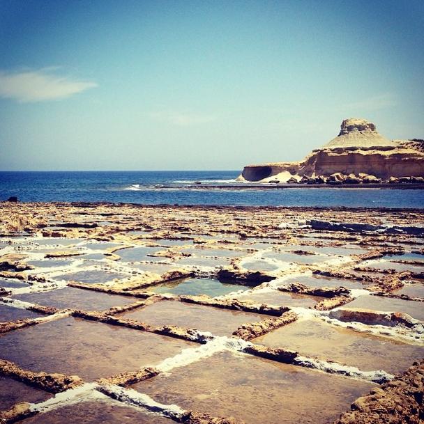 Malta - Salzpfannen