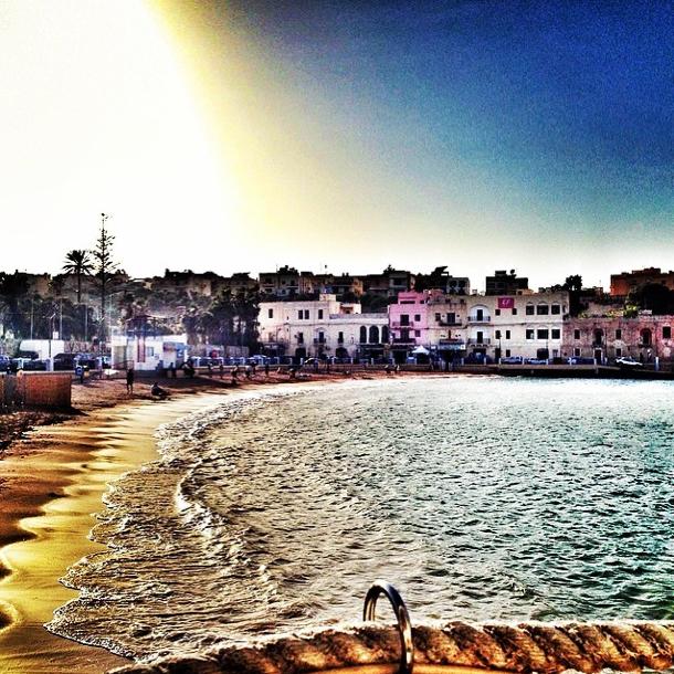 Malta - Sonnenuntergang bei St. Julians