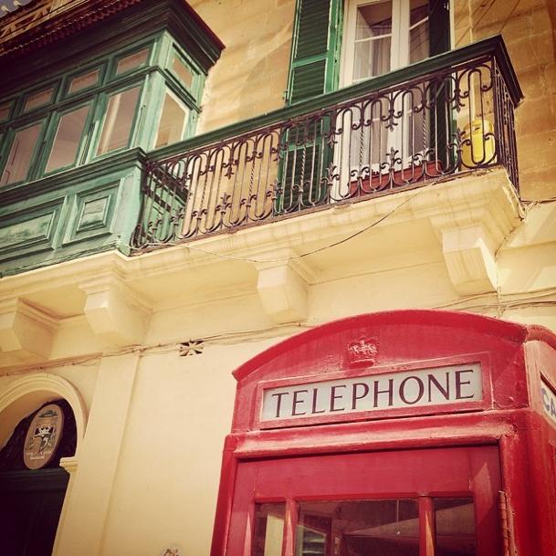 Malta - Telefonzelle