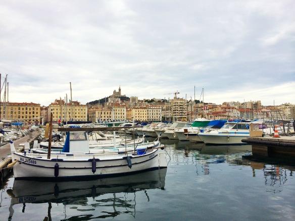 Marseille - Boote im Alten Hafen