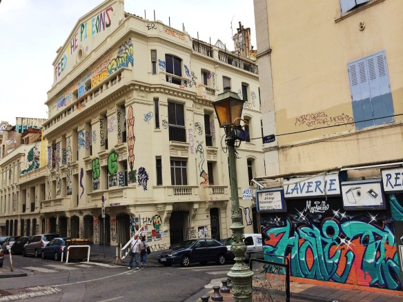 Marseille - Grafitti und Street Art