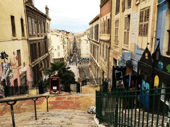 Marseille beim Cours Julien