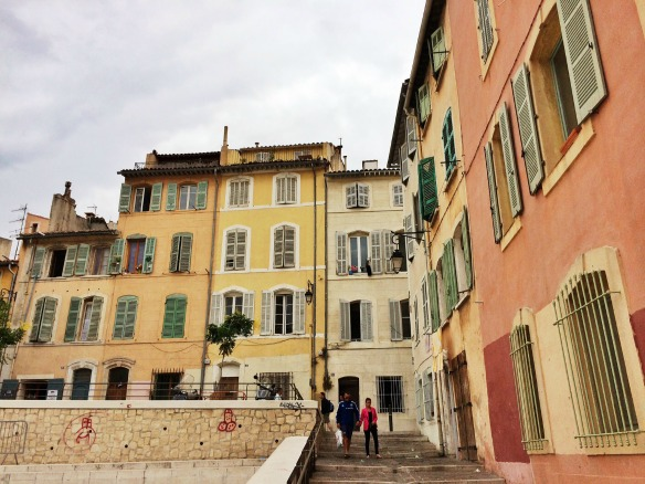 Marseille in der Altstadt Le Panier