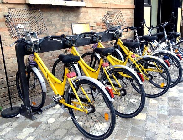 R_1_Ravenna in Italien - Leihfahrräder