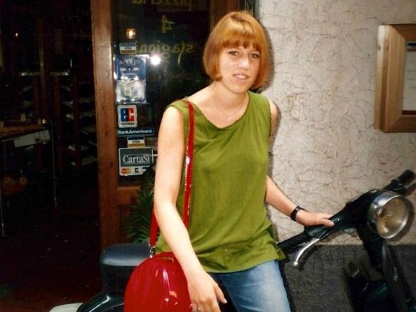Reiseblogger Anja Beckmann auf Vespa