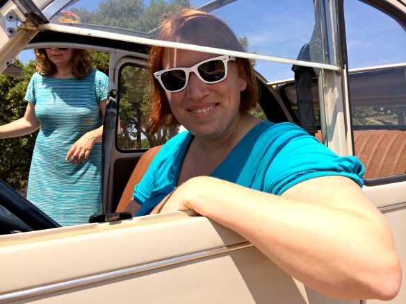 Reiseblogger Anja Beckmann in der Provence