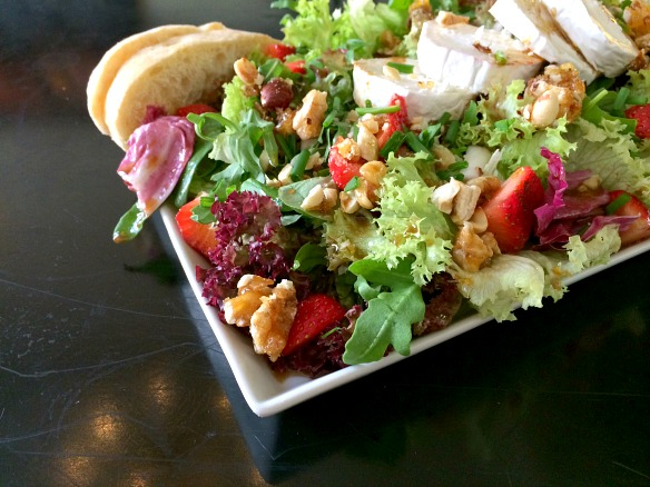 Salat für die Aktion #Reisefit