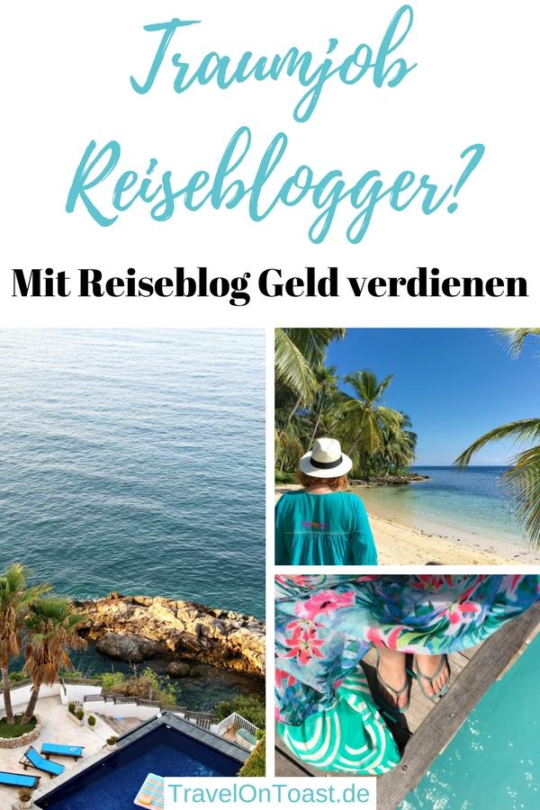 Traumjob Reiseblogger? Ich erzähle euch, wie ich 2012 zum Reiseblogger wurde, wie genau ich mit meinem Reiseblog Geld verdiene und von den Vor- und Nachteilen dieses Berufs. #Traumjob #Reiseblog #Reiseblogger #DigitalNomade #DigitalNomad