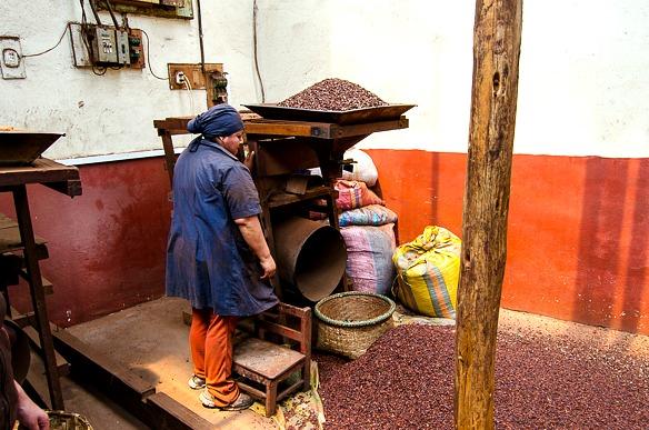 Aus Kakao wird Schokolade