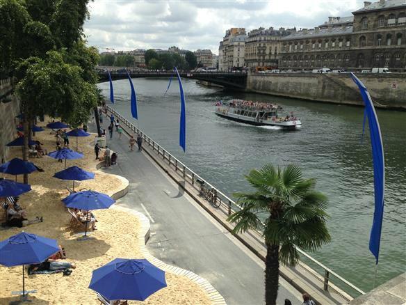 1 Paris Plages Stadtstrand