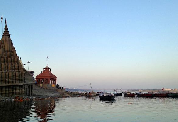 Nordindien - Varanasi Abendstimmung