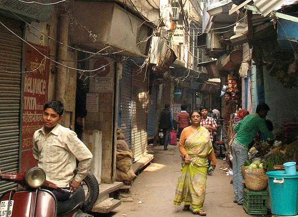Indien - Altstadt in Delhi