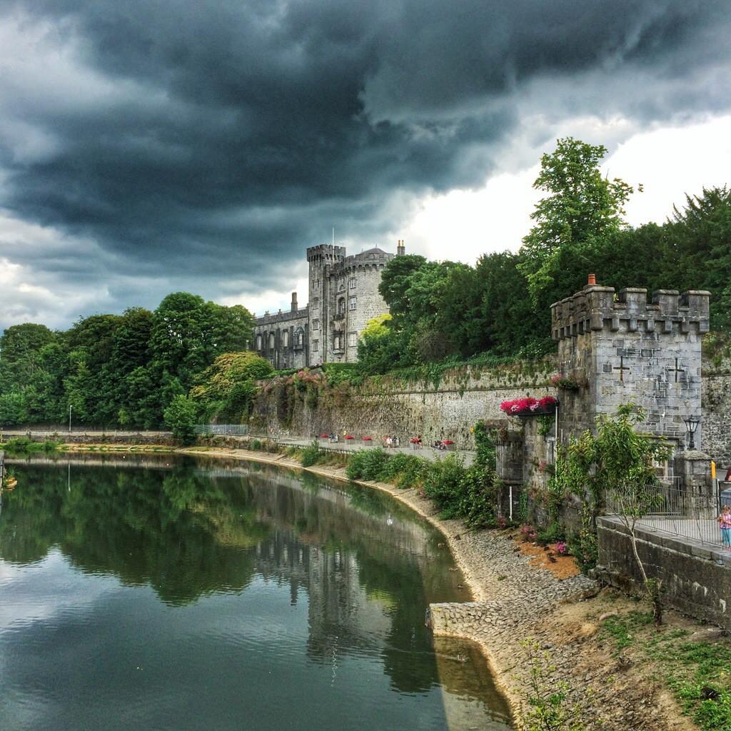 Kilkenny Castle in Irland