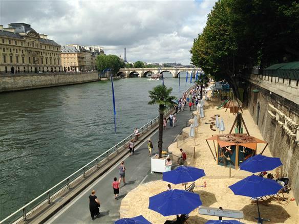 3 Paris Plages Sommer